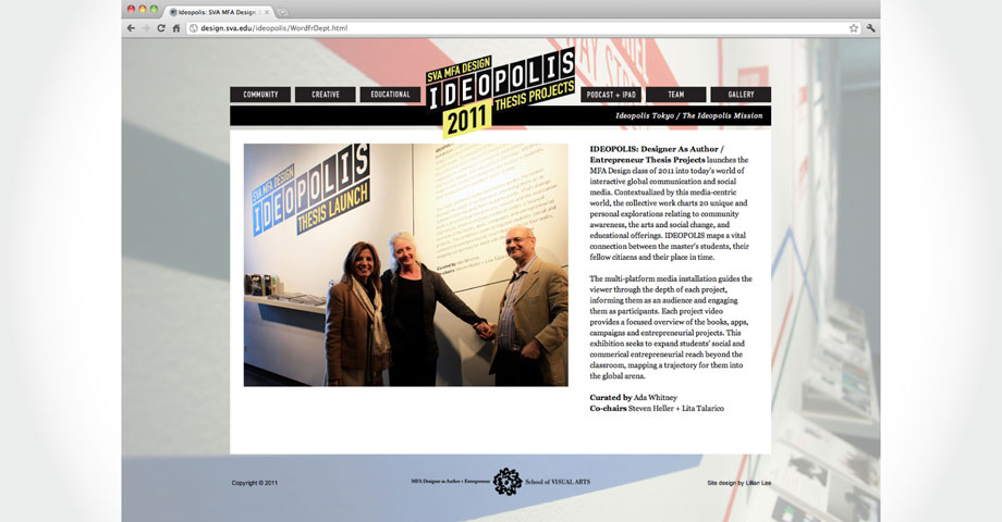Ideopolis Website